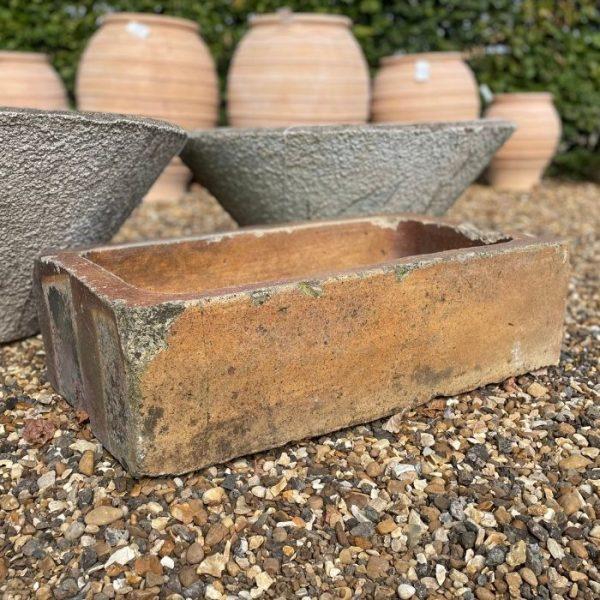 Salt Glazed Stone Trough