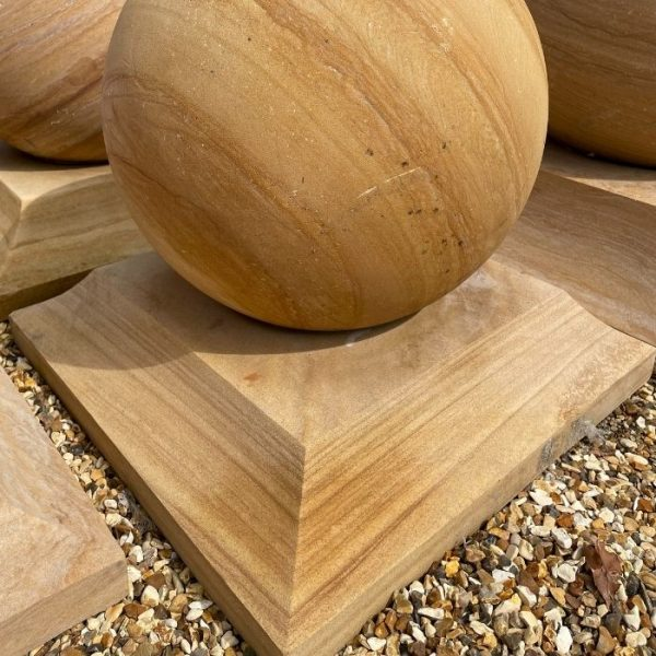 Teak Sandstone Plinths
