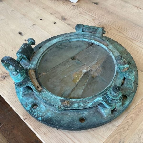 Vintage Bronze Porthole