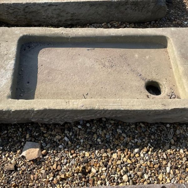Yorkstone Sink with Salting Table