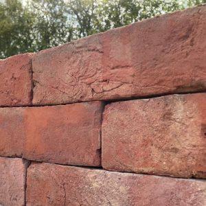 75mm Handmade Soft Red Brick