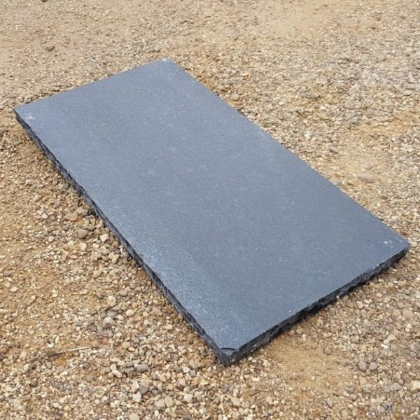 Black Limestone Fireplace Hearth