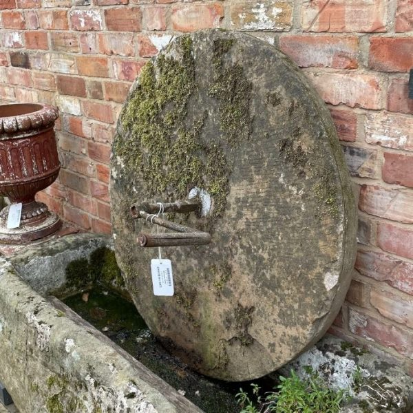 Large Millstone with Handle