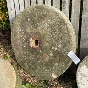 Large Weathered Yorkstone Millstone