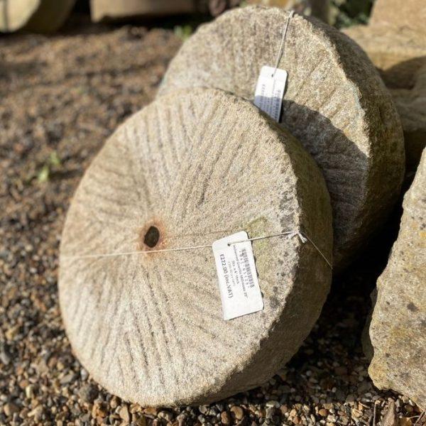 Reclaimed Granite Millstone