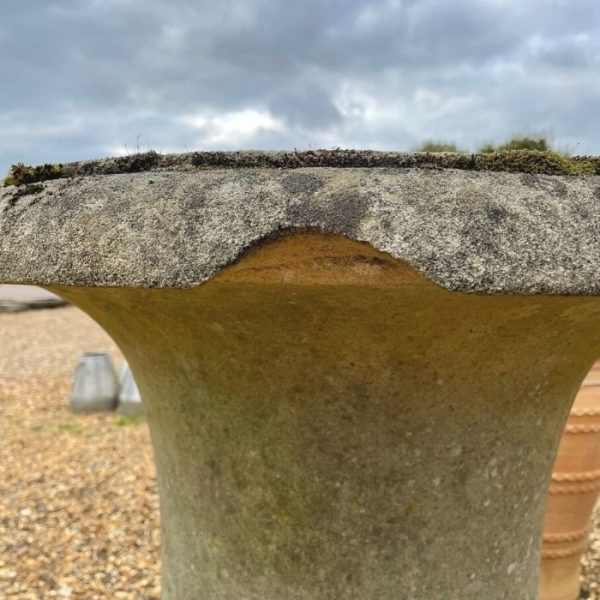 Reconstituted Stone Classical Fluted Urn
